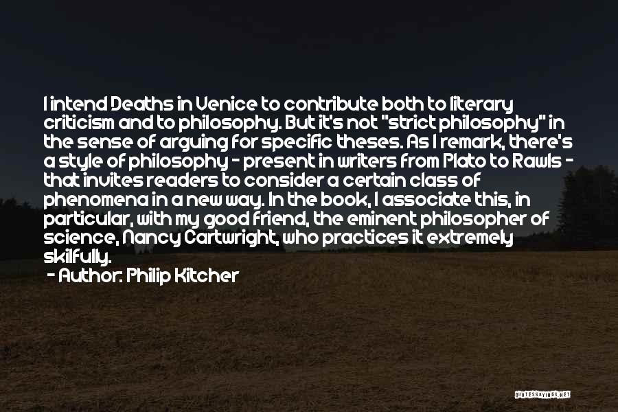 Plato Book 7 Quotes By Philip Kitcher