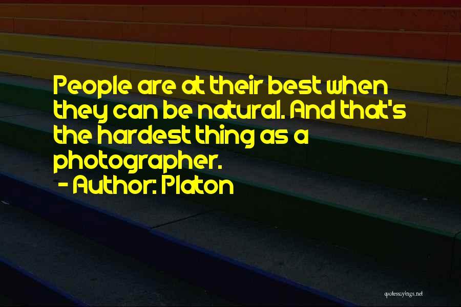 Platon Photographer Quotes By Platon