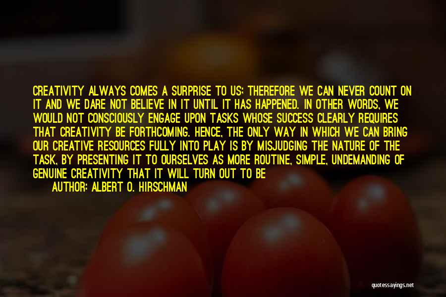 Play On Words Quotes By Albert O. Hirschman