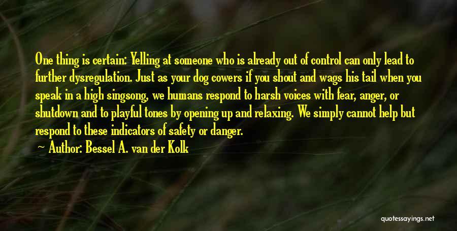 Playful Dog Quotes By Bessel A. Van Der Kolk