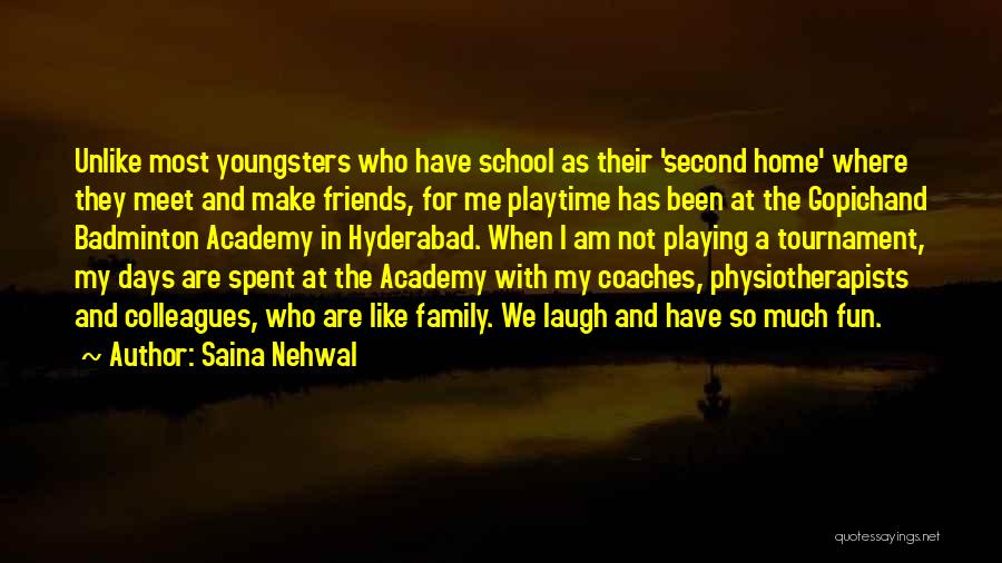 Playing Badminton Quotes By Saina Nehwal