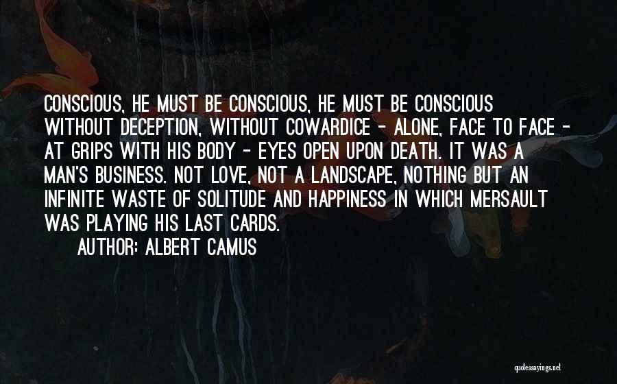 Playing Cards Quotes By Albert Camus