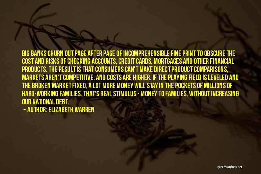 Playing Cards Quotes By Elizabeth Warren