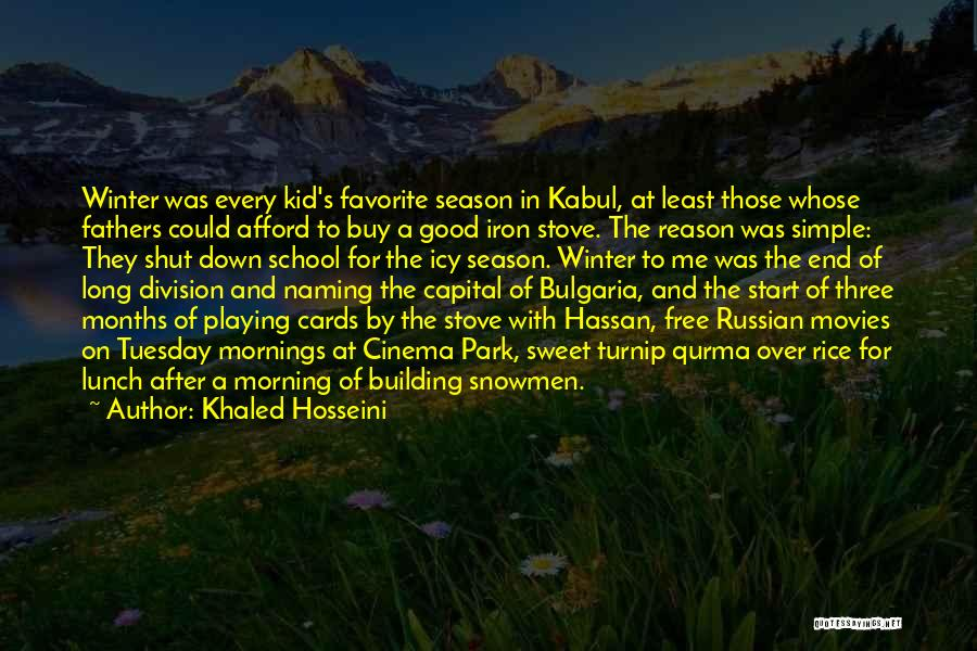 Playing Cards Quotes By Khaled Hosseini