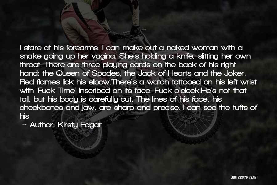 Playing Cards Quotes By Kirsty Eagar
