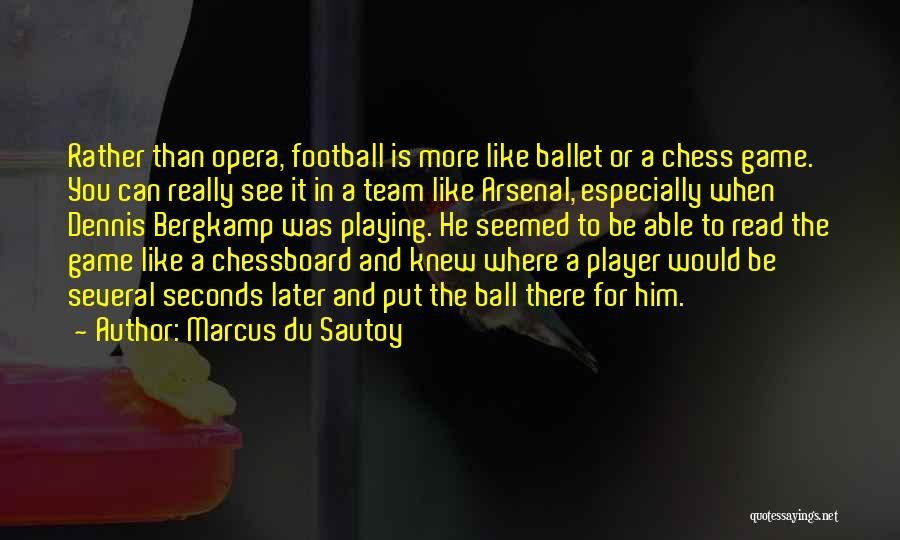 Playing The Game Quotes By Marcus Du Sautoy