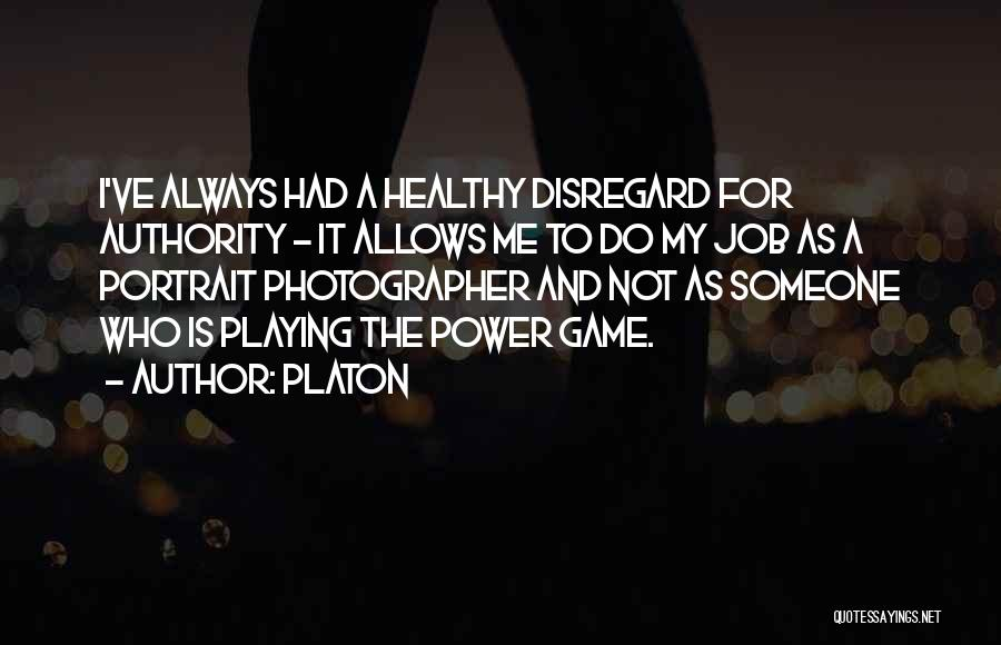 Playing The Game Quotes By Platon