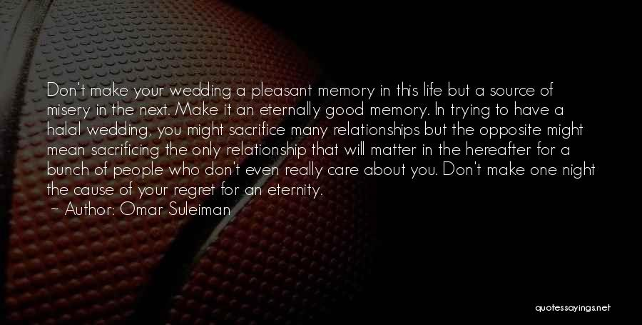 Pleasant Good Night Quotes By Omar Suleiman