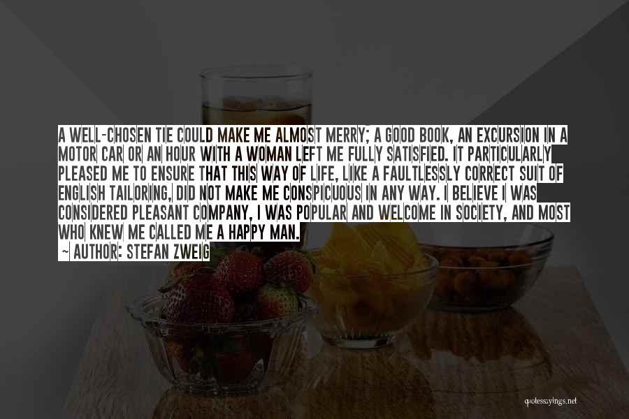 Pleasant Good Night Quotes By Stefan Zweig