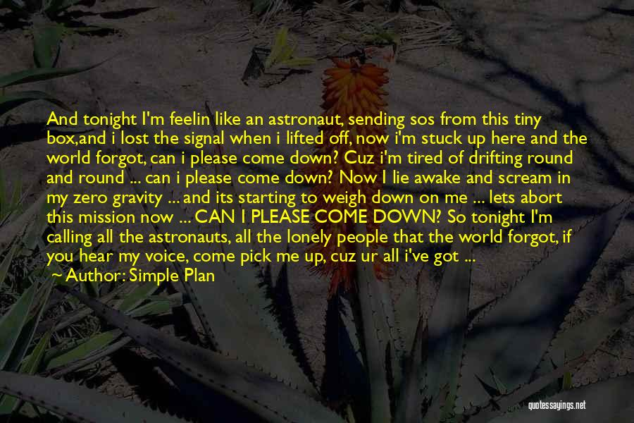 Please Pick Me Quotes By Simple Plan