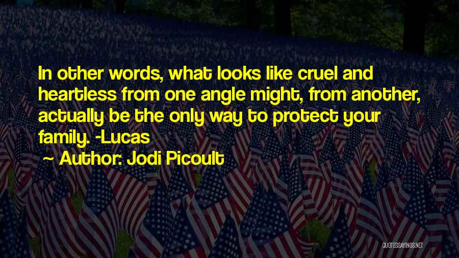 Please Protect My Family Quotes By Jodi Picoult