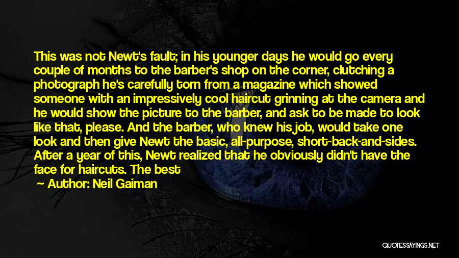 Please Someone Quotes By Neil Gaiman