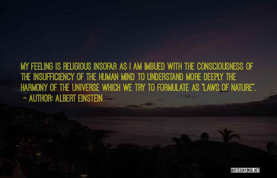 Please Understand My Feelings Quotes By Albert Einstein
