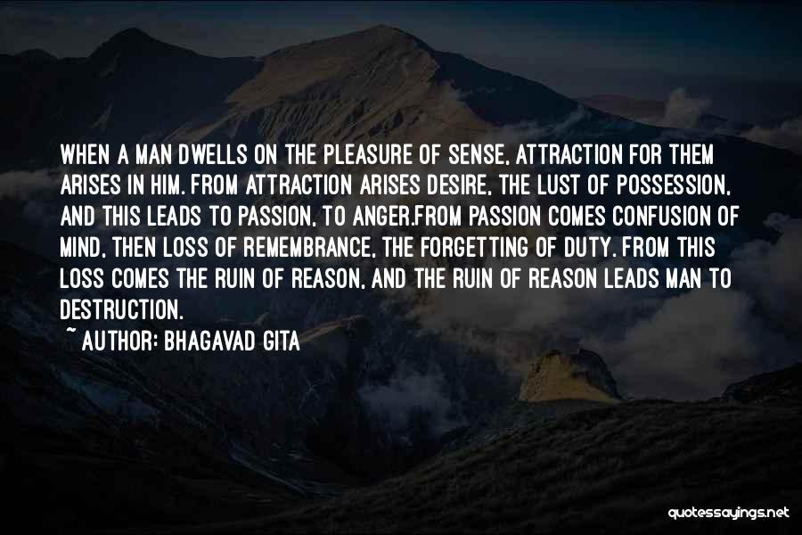 Pleasure And Desire Quotes By Bhagavad Gita