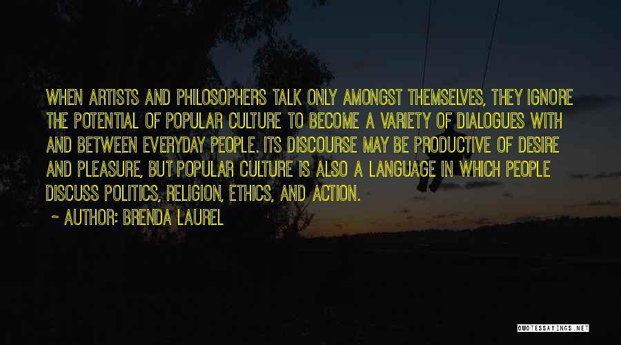 Pleasure And Desire Quotes By Brenda Laurel