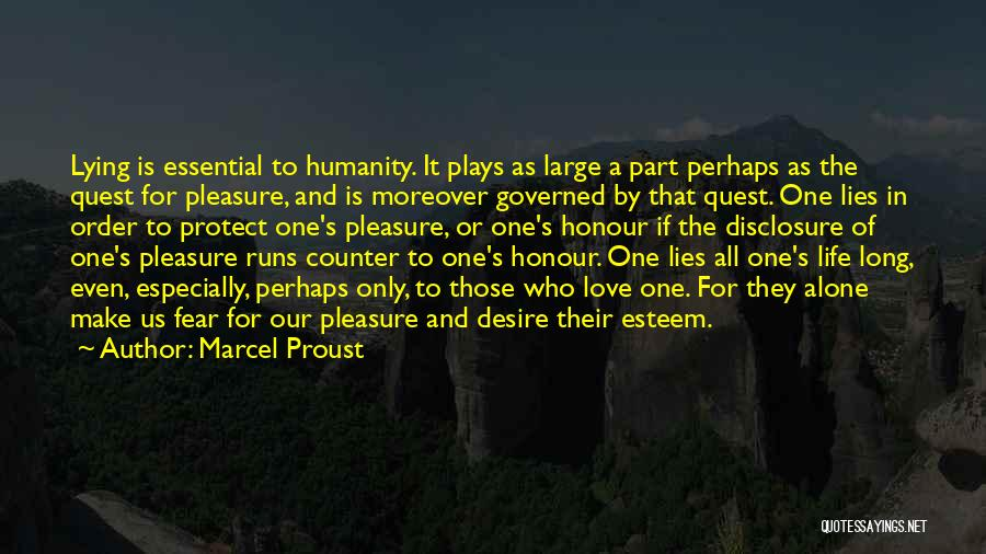 Pleasure And Desire Quotes By Marcel Proust