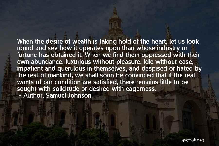 Pleasure And Desire Quotes By Samuel Johnson