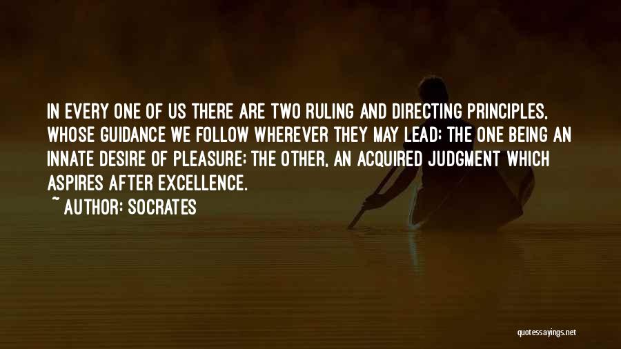 Pleasure And Desire Quotes By Socrates