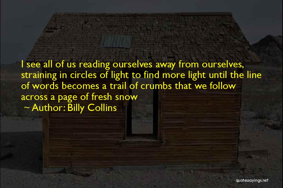 Poetry Books Quotes By Billy Collins