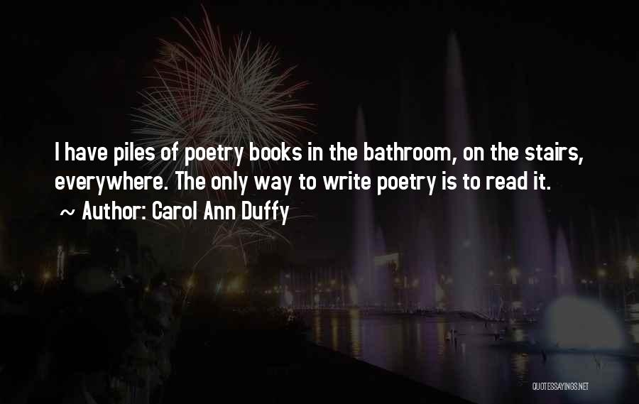 Poetry Books Quotes By Carol Ann Duffy
