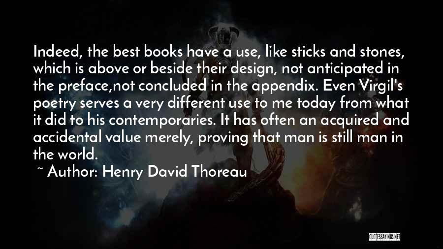 Poetry Books Quotes By Henry David Thoreau