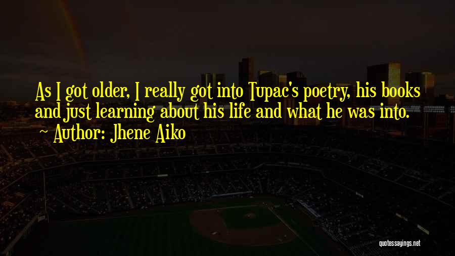 Poetry Books Quotes By Jhene Aiko