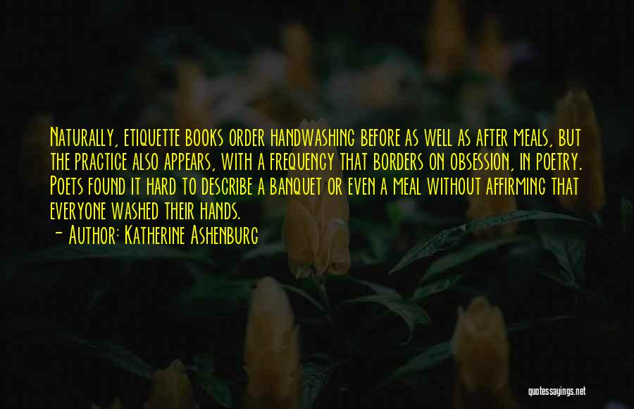 Poetry Books Quotes By Katherine Ashenburg