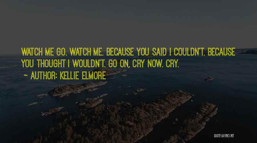 Poetry Books Quotes By Kellie Elmore