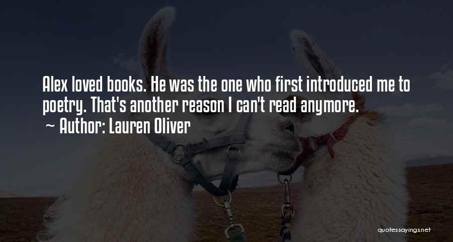 Poetry Books Quotes By Lauren Oliver