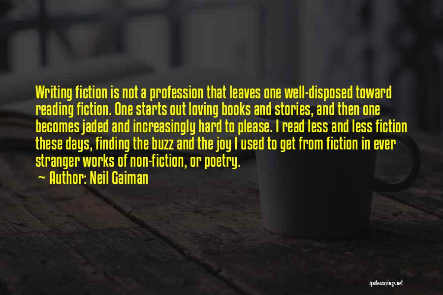 Poetry Books Quotes By Neil Gaiman