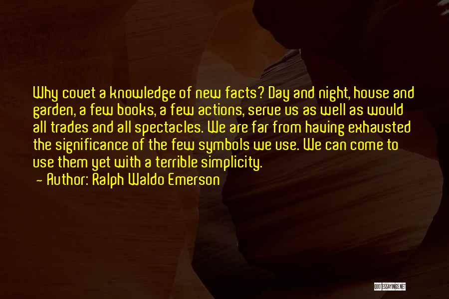 Poetry Books Quotes By Ralph Waldo Emerson
