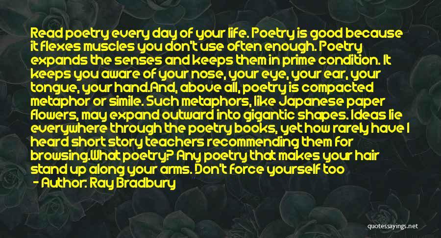 Poetry Books Quotes By Ray Bradbury