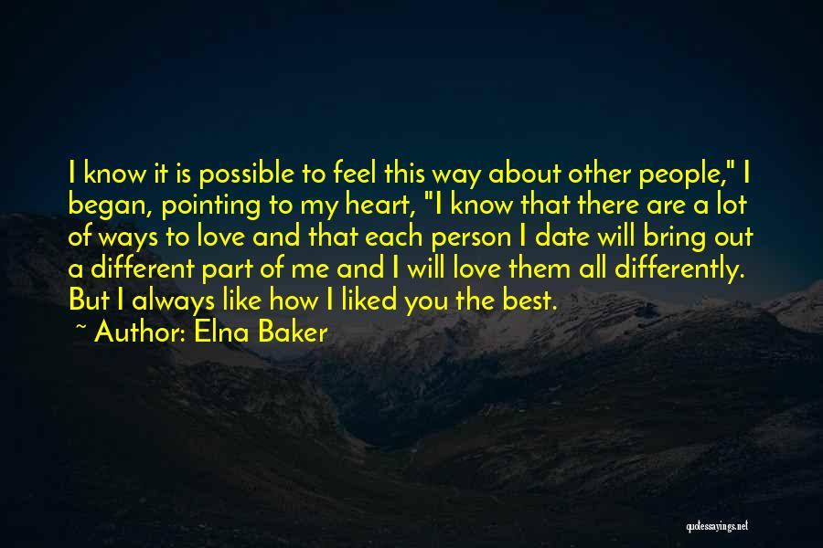 Pointing The Way Quotes By Elna Baker