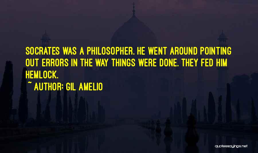 Pointing The Way Quotes By Gil Amelio