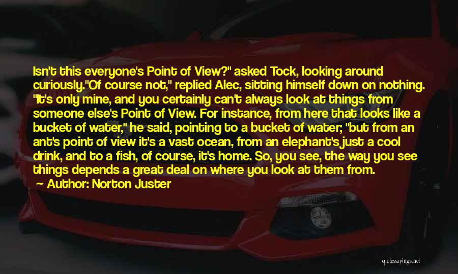 Pointing The Way Quotes By Norton Juster