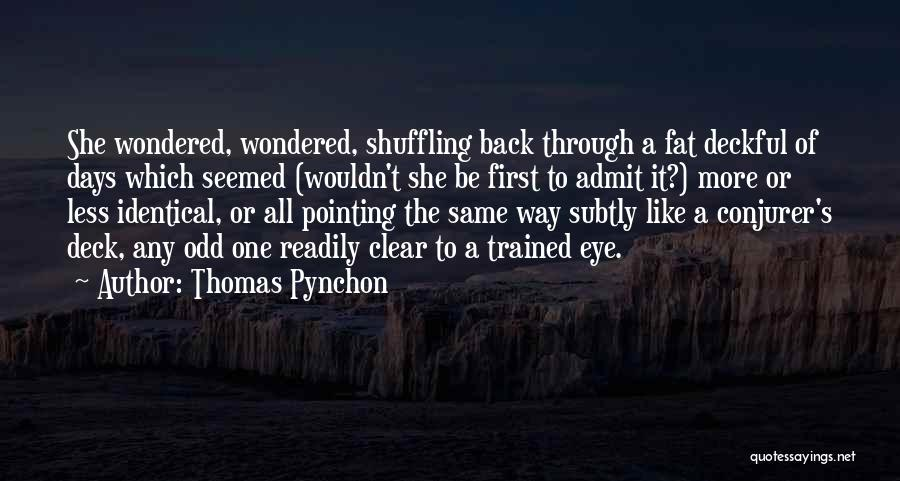Pointing The Way Quotes By Thomas Pynchon