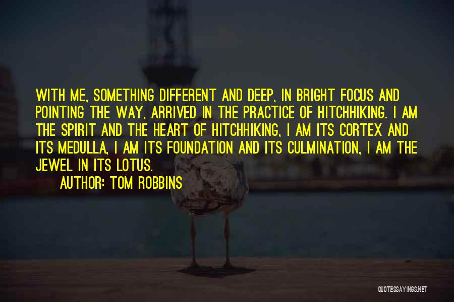 Pointing The Way Quotes By Tom Robbins