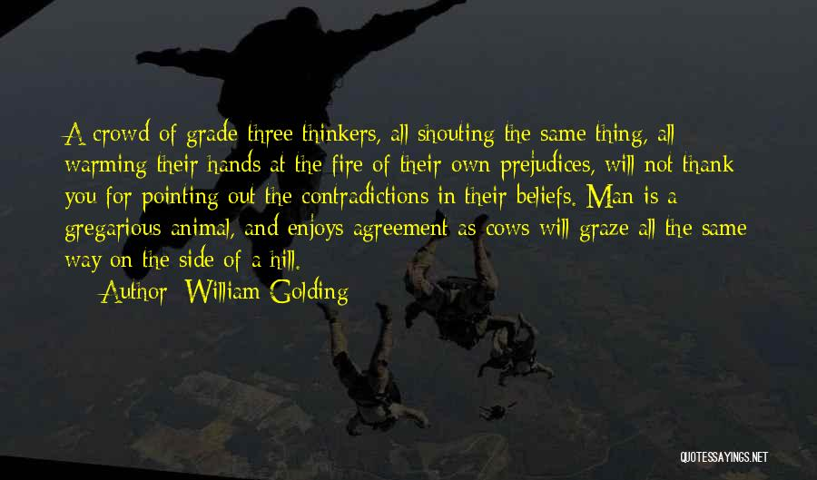 Pointing The Way Quotes By William Golding