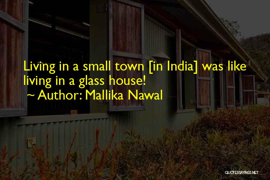 Poking Your Nose Quotes By Mallika Nawal