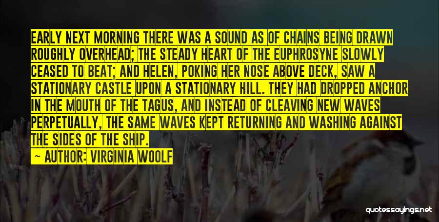 Poking Your Nose Quotes By Virginia Woolf