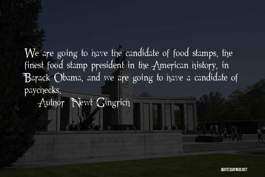 Political Candidate Quotes By Newt Gingrich