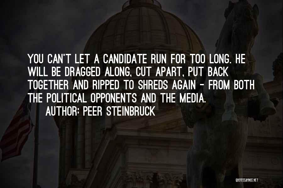 Political Candidate Quotes By Peer Steinbruck