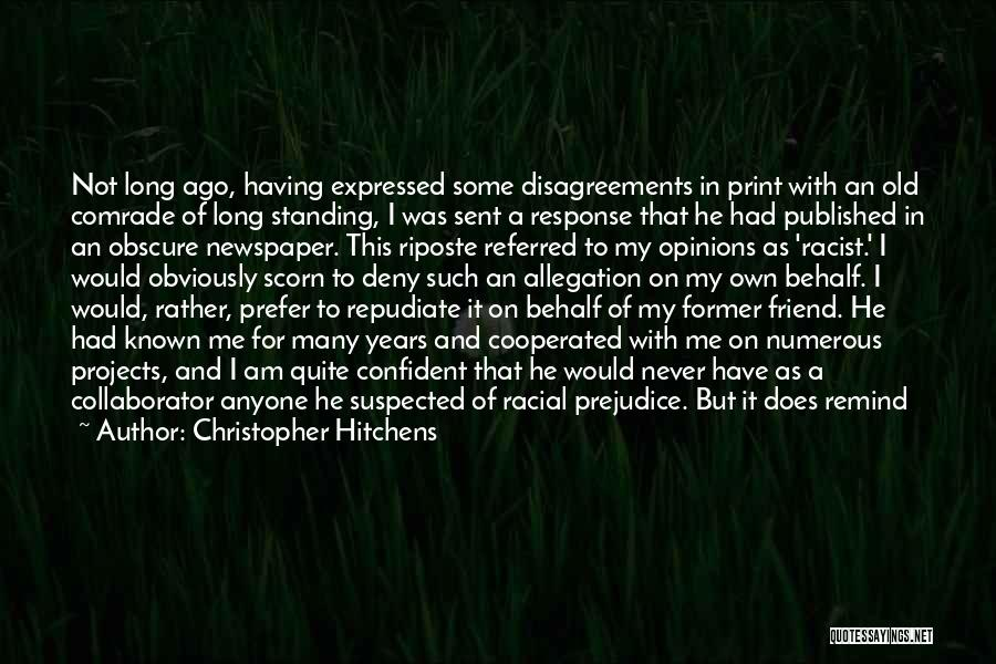 Political Dissent Quotes By Christopher Hitchens
