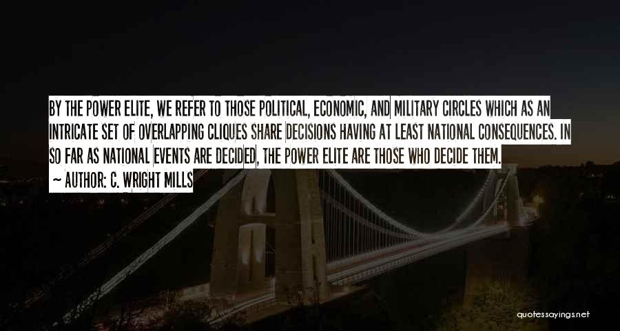 Political Elite Quotes By C. Wright Mills