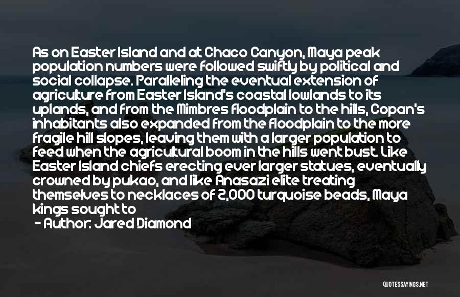 Political Elite Quotes By Jared Diamond