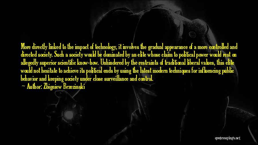 Political Elite Quotes By Zbigniew Brzezinski
