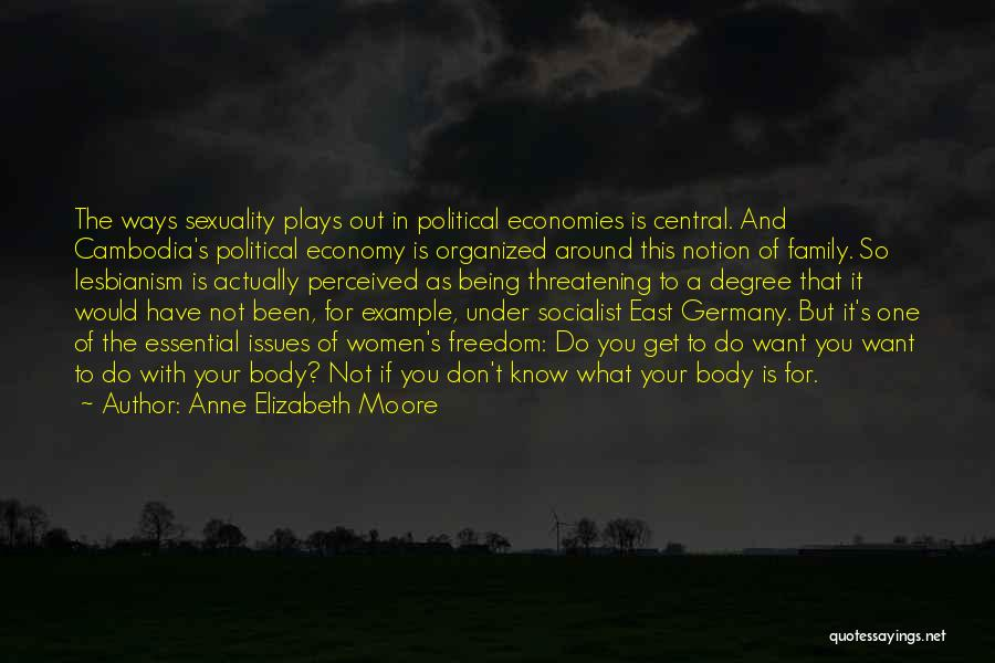 Political Lesbianism Quotes By Anne Elizabeth Moore
