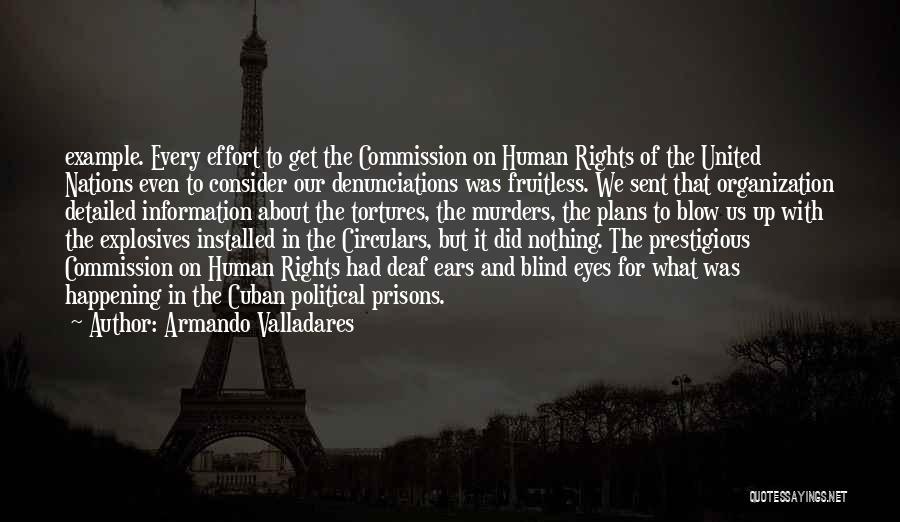 Political Murders Quotes By Armando Valladares
