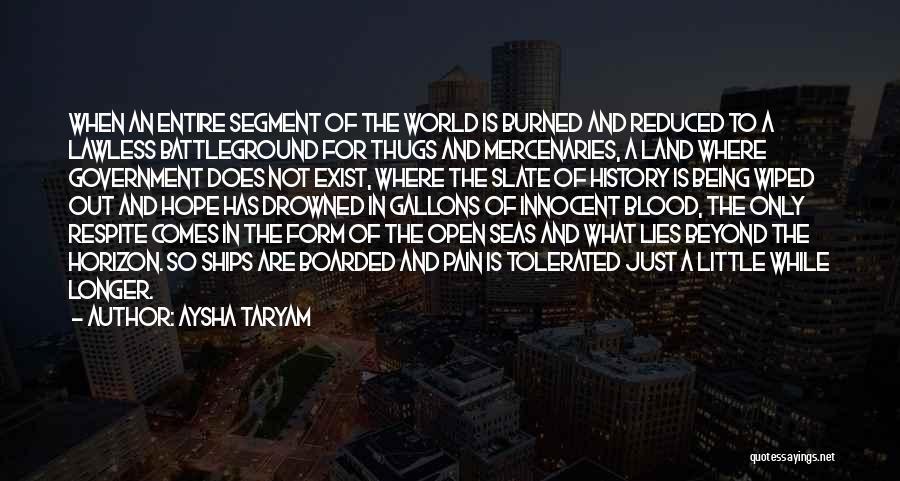 Politics And Lies Quotes By Aysha Taryam