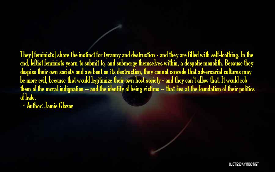 Politics And Lies Quotes By Jamie Glazov